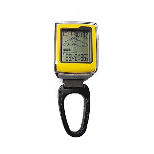 RUIX Termometro Digitale Barómetro De Brújula De Altímetro Portátil Gráfico De Cambio...