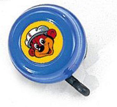 Puky G 22 Sicherheitsglocke/Klingel f&uumlr Kinder Roller,Laufrad, Fahrrad blau
