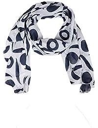 82d4fa178479a2 Zwillingsherz Seiden-Tuch Damen mit schlichtem Muster - Made in Italy -  Eleganter Sommer-schal für Frauen - Hochwertiges Seidentuch…