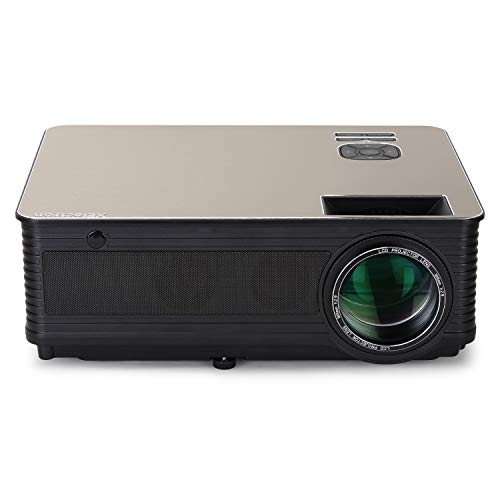 XElectron® Beam-M5 HD LED Home Cinema Projector with, 150 Inch Screen Projection, 3200 Lumens 1280 * 800, Supports Upto 1920 * 1080, for Office, Home, Presentations & Home Theater