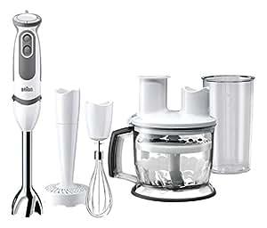 Braun mq5077wh buffet mixer ad immersione 750w colore - Mixer da cucina ad immersione ...
