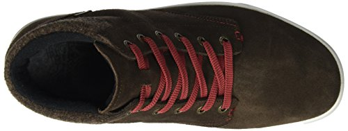 Lowa 410547 9713, Chaussures basses pour Homme Marron/rouge