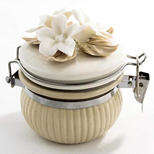 Albalù bomboniere barattolo porcellana ermetico utile per cucina