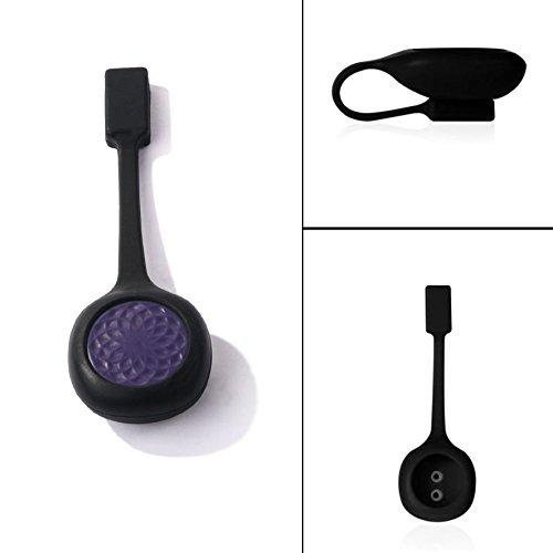 Fermoir magnétique Noir Support Clip Coque en silicone pour Jawbone Up Move Tracker