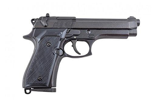 Denix Replik italienische Polizeipistole Beretta 92 F Parabellum 9 mm Pistole M9