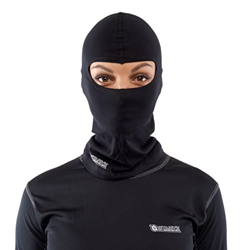 STARKS Sturmhaube Motorrad Sommer Balaclava Herren Fahrrad Sturmmaske | 90% High Quality Baumwolle Quick Dry, Protect From Dust Sun Wind | Ideal for Summer Extreme Sport Rad Motorcycle Bike Outdoor
