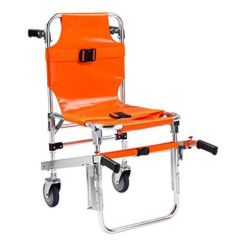 Bahren tragbare transporteinheit treppenstuhl krankenwagen feuerwehrmann evakuierung Medical Lift treppencomputer Stuhl mit Schnalle