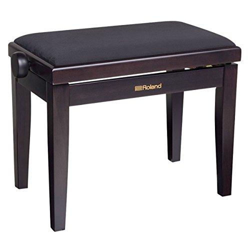 Banco piano Roland palisandro asiento velur - RPB-220RW