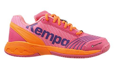 Kempa Mädchen Attack Junior Sneakers, Pink (09), 36 EU (Junior-mädchen Freizeitschuhe)