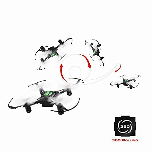 EACHINE-H8-Mini-Cuadricptero-Headless-Mode-24G-4CH-6-Axis-RC-Nano-Teledirigido-Quadcopter-RTF-Modo-2-Negro
