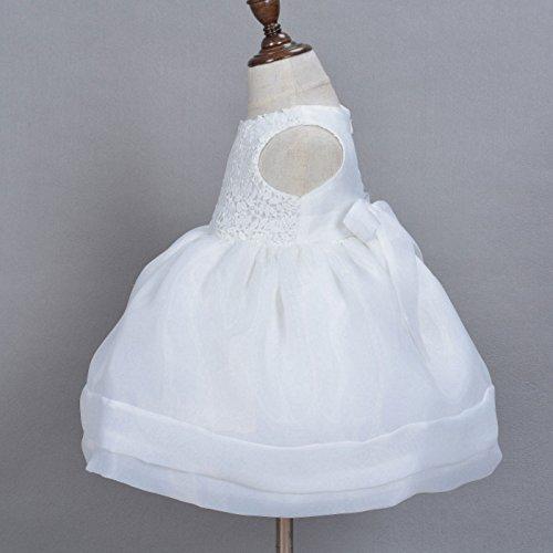 9abb3acb Happy Cherry - 2 Pcs Bebés Niñas Vestidos de Boda Bautizo con ...