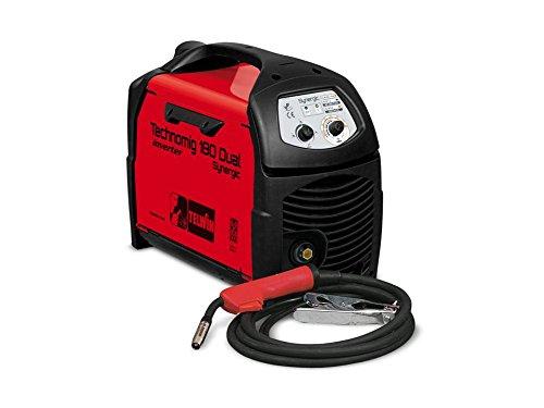 Telwin TE-816054 Equipo de soldadura de hilo, 1.6 W, 230 V, Rojo y negro