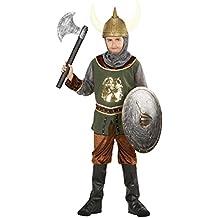 Vikingo Disfraz Niños Ritter Disfraz infantil Disfraz Caballero Medieval Ritter Traje mutiger verkleidung Guerrero el Viajero Carnaval Disfraz Disfraz infantil niño