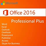 MS Microsoft Office 2016 Professional Plus Original Product Key 1PC 32/64-Bit
