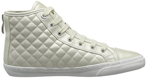 Geox  D New Club A, Sneakers Basses femme Blanc (Whitec1000)
