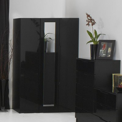 Visualise Orient 3 Door Mirrored Wardrobe