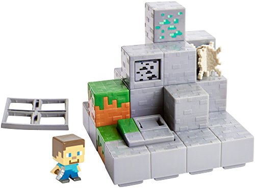 Minecraft Mini Figur Environment Set - Mining Mountain -