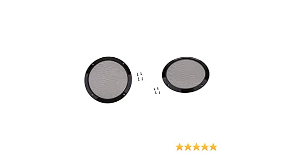 KESOTO 2pcs 8 Pouces Grilles de Protection pour Haut-Parleur Accessoires des Enceintes