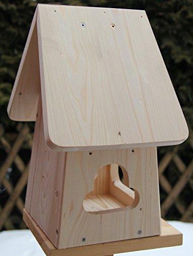 Nistkasten(NB2)-mit Vogelfutterhaus zum selbst bauen-Bausatz-Vogelhaus Garten Deko - 2