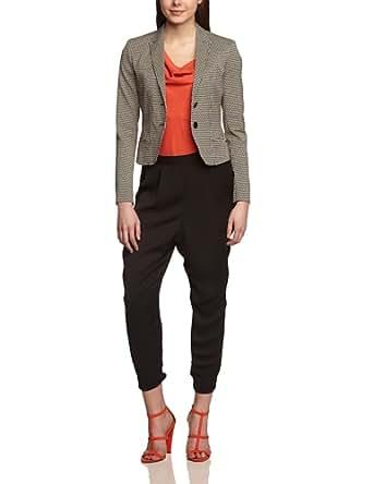 CINQUE Damen Slim Fit Blazer CIBAST, Gr. 40, Schwarz