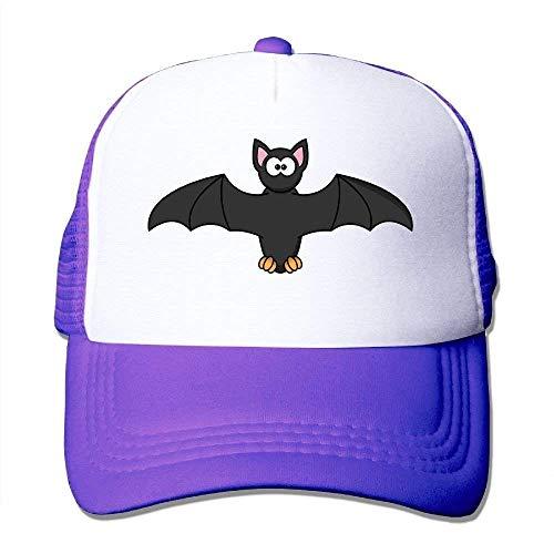 Wfispiy Bat Face Mesh Baseball Cap Unisex Erwachsene Einstellbare Golf Trucker Hat RF6413