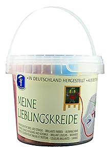 Feuchtmann Spielwaren Muñeco húmedas Juguetes 657.5001-Mis Tiza favoritas, Small Bucket, 20Barras en Parte Cubo