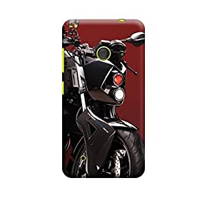 iCover Premium Printed Mobile Back Case Cover With Full protection For Nokia Lumia 530 (Designer Case)