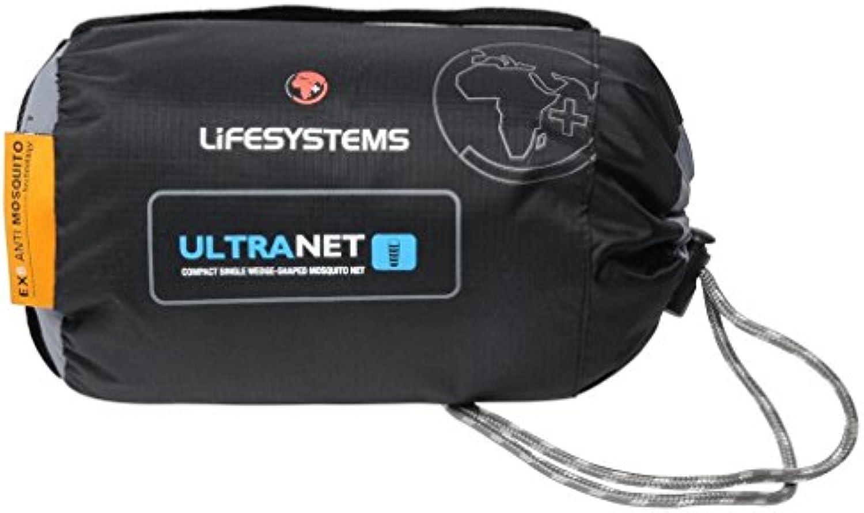 Lifesystems Ultraligero Micro Net Simple Negro, Negro, Talla Única