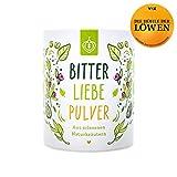 BitterLiebe Pulver mit 100% natürlichen Bitterstoffen für Smoothies und viele weitere Rezepte | enthält 7 wohltuende Bitterkräuter | hochwertiges Green Superfood