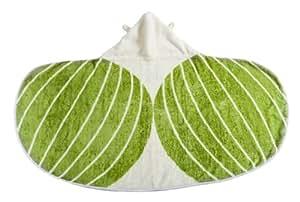 Cuddledry Cuddlebug Organic Toddler Towel (Green)