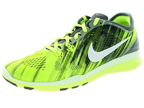 Nike - Free 5.0 Tr Fit 4, Sneaker Donna Cool Grey/White/Volt/White