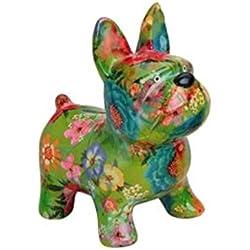 Caja de dinero, Hucha perro de cerámica