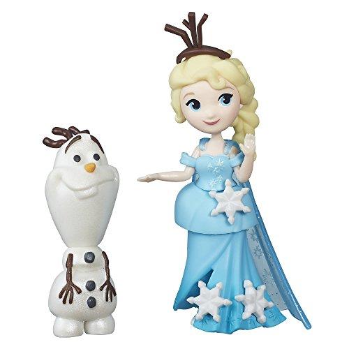 skönigin B5186ES0 - Disney Eiskönigin Little Kingdom Freunde-Set Esla und Olaf, Figuren ()