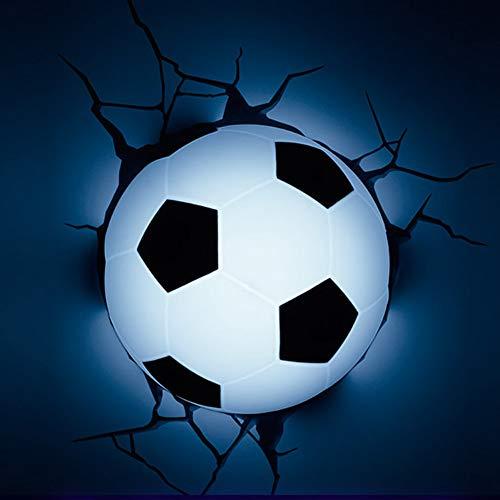 Bx-xiao pallacanestro di plasticaleggera 3dlight9cm piccolo pallone da calcio