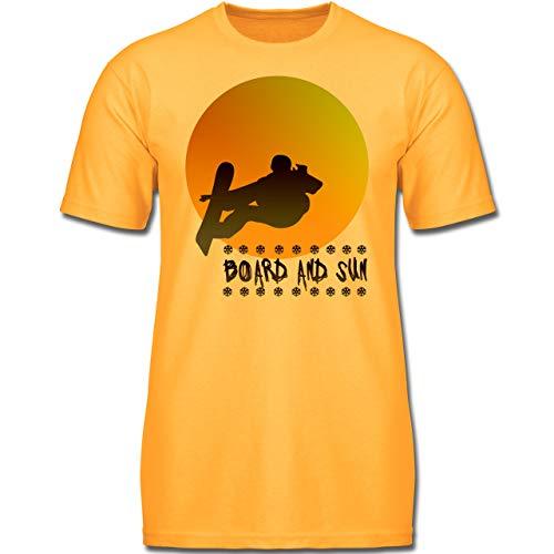 Sport Kind - Board and Sun - 140 (9-11 Jahre) - Gelb - F130K - Jungen Kinder ()