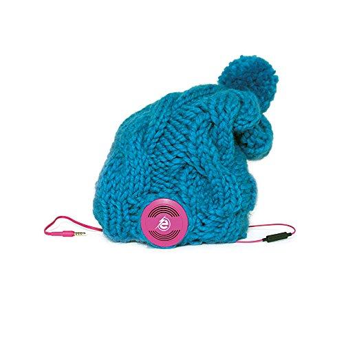 Earebel handgemachte Strickmütze 'Lacaune' mit AKG Kopfhörer