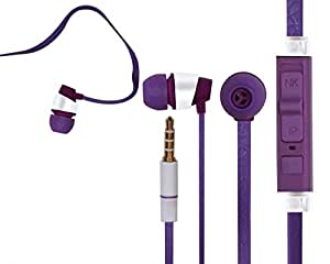 Samsung Galaxy Reverb M950 COMPATIBLE Wired Headphone/Earphone/Stereo Headphone (Purple) with Super Sound 3.5MM Jack by M-STARK