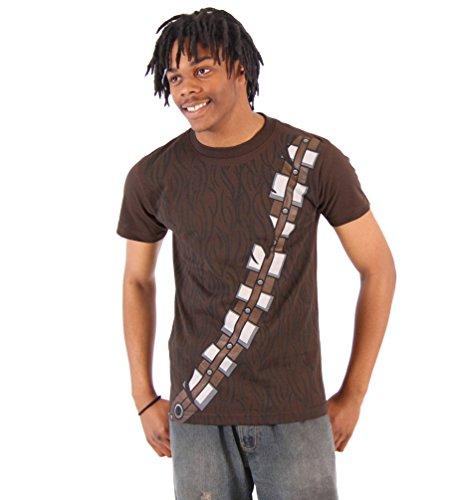 Star Wars I Am Chewbacca Kostüm Erwachsene braun T-Shirt (Medium) (Kostüm Adult T Shirt Tee)