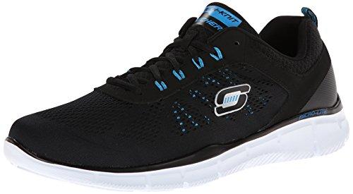skechers-equalizer-deal-maker-low-top-sneaker-uomo-nero-schwarz-bkbl-40