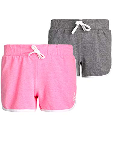 Reebok Girls' French Terry Athletic Shorts (2 Pack) - French Terry Short Set
