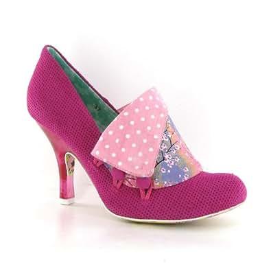 Irregular Choice Flick Flack Pink Femme Chaussures Size 43 EU