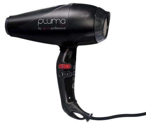 GaMa - Sèche-Cheveux Ionique - Pluma 4500 Endurance Ion - Noir