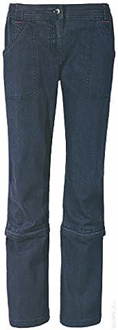 CRIVIT® Damen Trekkinghose, mit Zip-off-Funktion auf Capri-Länge, Gr. 38 (
