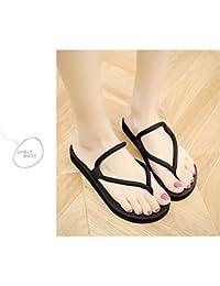 Flip-Flops Lady Summer versión coreana del pie clip simple suelas antideslizantes de suela gruesa moda casual...