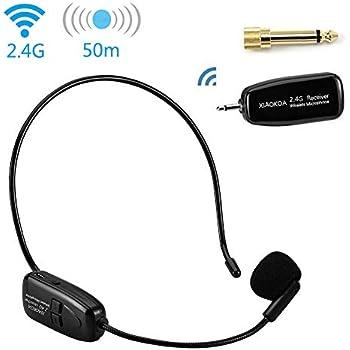 Jelly Comb Drahtlose Ü WGYP- 2.4G Kabelloses Mikrofon WGYP-022 Headset-Mik