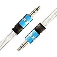 IBRA Cavo Audio Jack 3.5mm - Stereo Maschio a Stereo Maschio - 7,5 m / Blu