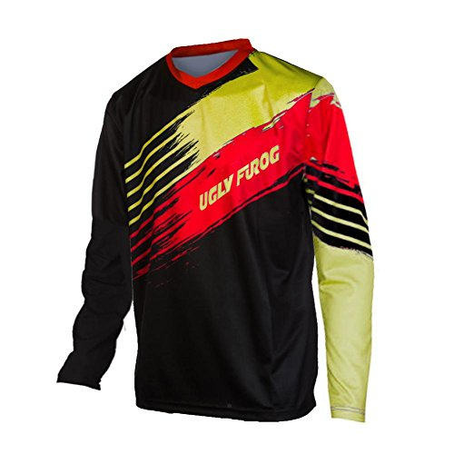 Uglyfrog 2017 Lange Ärmel Jersey Frühlingsart Motocross Mountain Bike Downhill Shirt Herren Sportbekleidung Kleidung