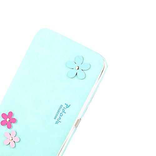 Portafogli da Donna Borsa con diamante tacchi alta modello, Sunroyal Multifunzionale [Grande capacità] Smartphone Wristlet Custodia Case Cover per Sony Xperia XA1, Sony xperia x compact, Sony xperia x Modello 19