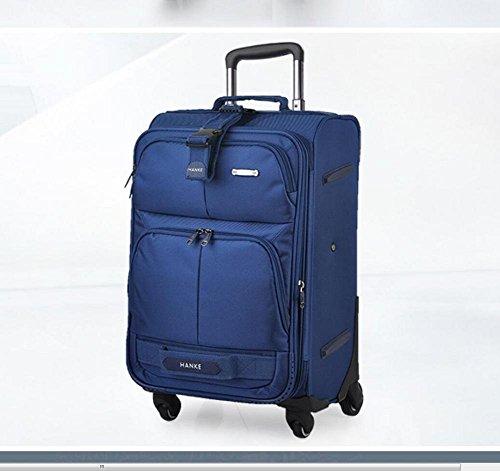 GJX Outdoor morbido bagaglio valigia trolley valigia