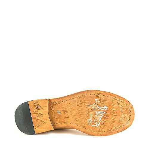 Felmini - Damen Schuhe - Verlieben Gredo 8346 - Cowboy & Biker Stiefeletten - Echte Leder - Beige - 0 EU Size Beige